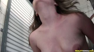 Cassy rides that cock as her juicy tits bounce.