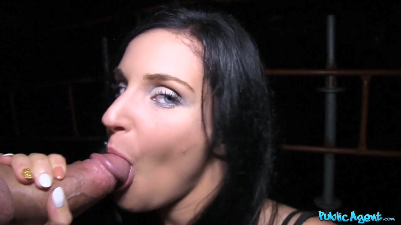 PublicAgent – Lucia – Blue Eyed Slut Fucked in Public